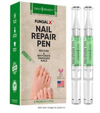 Daily Remedy Nail Repair Pen Set – 2-Pen Fingernail & Toenail Health Care Bundle