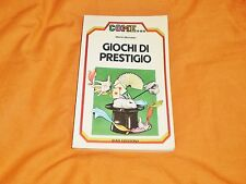 martin michalski  giochi di prestigio said edizioni 1984