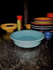 FIESTA 2 QUART EXTRA LARGE SERVING BOWL turquoise blue NEW