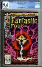 FANTASTIC FOUR #244 CGC 9.6 WHITE PAGES // FRANKIE RAYE BECOMES NOVA 1982