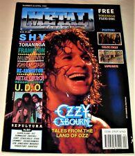 RARE Vintage 1990 METAL FORCES Magazine #49 - SHY,UDO,METAL CHURCH,OZZY,SAVATAGE