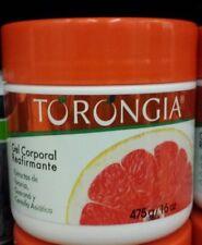 TORONGIA Skin Firming body Gel Helps Dissolve Cellulitis 16 oz.W/Guaraná Extract