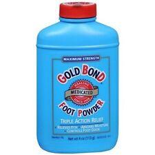 Gold Bond Foot Powder Medicated 4 Ounce (118ml)