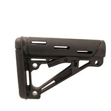 Hogue Overmolded Collapsible Buttstock - Mil-Spec .223 Remington - Black 15040