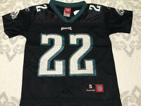 VTG Perfect #22 deuce Staley Philadelphia eagles mesh NFL Reebok football jersey