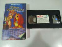La Dama y el Vagabundo Walt Disney - VHS Cinta Español - 2T