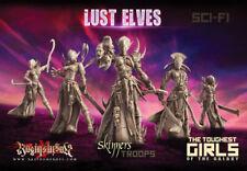 Raging Heroes Lust Elves -  Skinners Troops - NEW