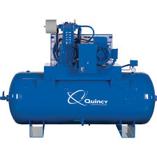 Quincy QT-10 PRO,10HP Splash Lubricated Piston Air Compressor; 460 Volt 3 Phase