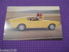 1972 FORD MUSTANG 2 door Dealer promotional post card ORIGINAL authentic old