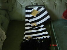Baby Phat  black/white hat & scarf set new with tags