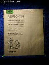 Sony Bedienungsanleitung MPK TR Handycam Marine Pack (#0491)