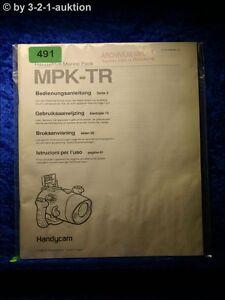 Sony Manual Mpk Tr Handycam Navy Pack (#0491)