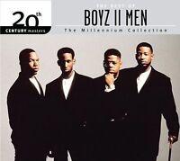 BOYZ II MEN The Best Of Millennium Collection CD BRAND NEW Ecopac