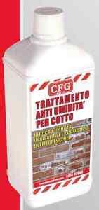 PROTETTIVO ANTIUMIDITà ANTIMUFFA per PAVIMENTO RIVESTIMENTO in COTTO e PIETRA 1L