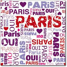 Sticker boite aux lettres Paris 30x30cm réf 318