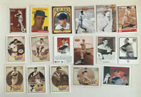 Ted Williams 17 card REPRINT LOT! Upper Deck-Topps-Heroes-Fleer Red Sox 100++