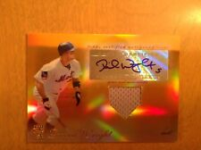 David Wright 2009 Topps Tribute Game Used Jersey Auto Card 2/25