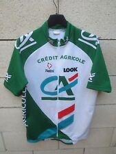 Maillot cycliste CREDIT AGRICOLE Tour de France 1999 Nalini Look jersey shirt L