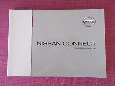Nissan Connect navegación Sat Nav y Audio Manual MICRA NOTE QASHQAI (CJL 93+)