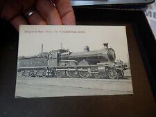 More details for vintage postcard gswr  railway    engine  386