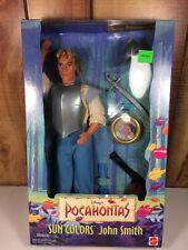 New Disney Pocahontas Sun Colors John Smith Barbie 1995 Soldier 13329 Man Doll