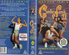 MARCUS IRWIN-CARDIO FUNK II-VHS-PAL-NEW-Never played -Rare! -Original Oz release