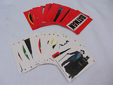 Batman Picture Card ~ Series 1 & 2 Stickers ~ 44 Stickers 1989 Topps