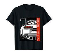 Retro 90s Car Legend 2JZ JDM Japanese Domestic Market Tuning T-Shirt Black S-5XL