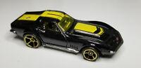 "2008 Hot Wheels '69 CHEVY CORVETTE ""Mystery Cars"" 173/196 - Die-cast Black Car"
