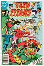 DC - TEEN TITANS #49 - 2nd Bumble Bee Appearance - FN 1977 Vintage Comic
