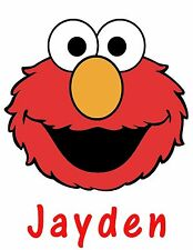 Personalized Elmo's World Love Elmo T Shirt Gift with Name On