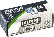 PILAS DE RELOJ - BOTÓN 1,55V MAXELL SONY ENERGIZER SEIKO 315 - 399(364/377= 1€)