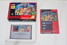Super Nes Nintendo Snes – Super Adventure Island (FAH Edition française) COMPLET