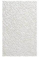 White Embossed Pebble Invitation Paper A4 / Pkt 5