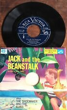 Jack and the Beanstalk / The Shoemaker and the Elves PAUL WING 45 vinyl RCA rare