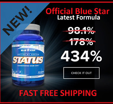 Blue Star Status Pharmaceutical Grade Testosterone Boosts 434% Stronger formula