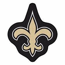 New Orleans Saints Mascot Decorative Logo Cut Area Rug Floor Mat