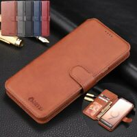 For Samsung Galaxy S20 FE Note 8 S8 Case Magnet Leather Wallet Flip Phone Cover