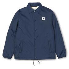 Cazadora Carhartt hombre sport pille coach jacket color azul talla M
