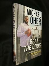 Signed! Michael Oher autographed I Beat The Odds HC DJ Book