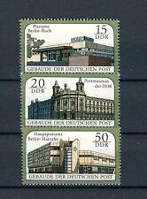 1988 Satz postfrisch Mi.- Nr. 3145-3147, Gebäude der Deutschen Post