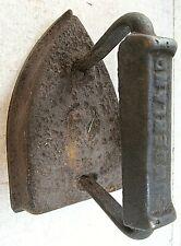 "Vintage Antique Cumberland Solid Cast Iron Flat Iron Sad Iron ~ 6 pound 6"" x 4"""