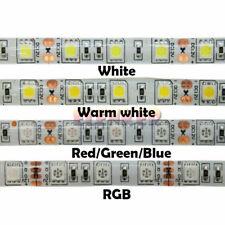 12V 16.4ft 32.8ft 300Led 5050 SMD Waterproof Led Strip Lights Lamp Ultra Bright