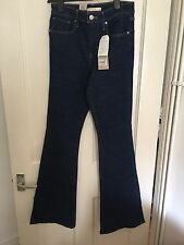 BNWT Levi's JEANS TAILLE 28 High Rise Flare