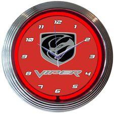 Viper Neon Clock 8VIPER w/ FREE Shipping