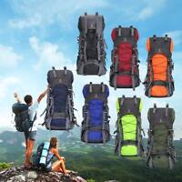 60L/40L Camping Travel Rucksack Waterproof Sports Outdoor Backpack Hiking Bag