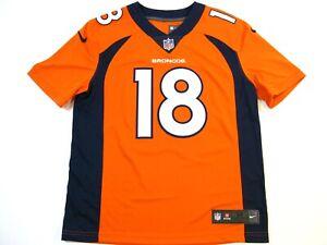 Peyton Manning Denver Broncos Orange Mens Medium Nike Limited Jersey