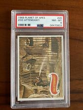 1969 Planet of the Apes #28 Zoo Attendant! Psa 8 Nm-Mt