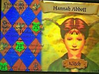 Harry Potter BASE SET- HANNAH ABBOTT- HOLO  # 7/116 - NEW
