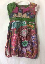 robe coloré Desigual  taille 3-4 ans  bon état (C930)
